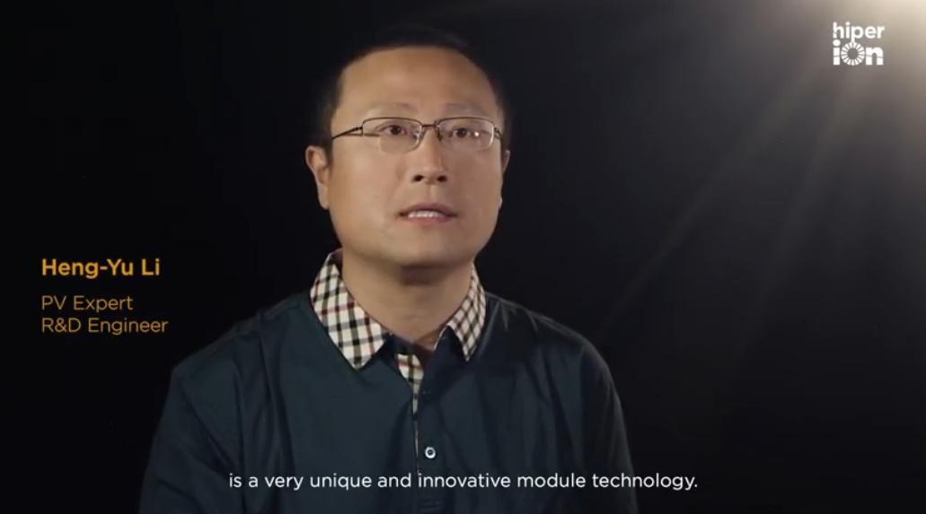 Heng-Yu Li, PV expert