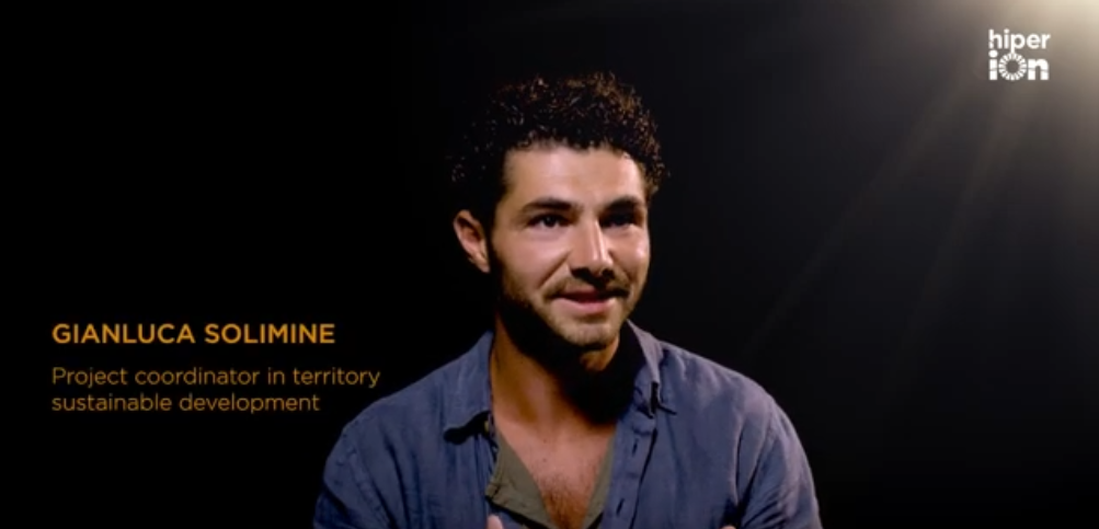 Gianluca Solimine, Project coordinator in territory sustainable development